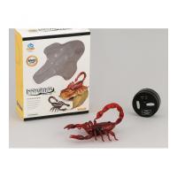 Radiovadāmāis skorpions 14 cm ar gaismu