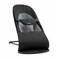 BABYBJÖRN - Bouncer Balance Soft - Black / Dark grey Šūpuļkrēsls