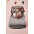 BABYBJÖRN - Bouncer Bliss - Light grey, 3D Jersey + Toy Šūpuļkrēsls