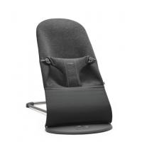 BABYBJÖRN - Bouncer Bliss - Charcoal Grey, 3D Jersey šūpuļkrēsls