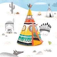 DD04491 Djeco Rotaļu  telts  - Vigvams