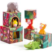 DJ09101 Djeco Blocks for infants - Maxi Topanijungle