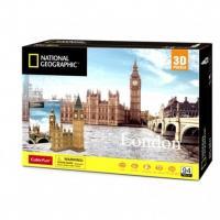 DS0992H cubicfun 3D Puzzle National Geographic Big Ben