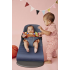 BABYBJÖRN Babybjorn - Bouncer Bliss - Dove blue, 3D Jersey Šūpuļkrēsls