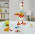 E6647 Hasbro PlayDoh Plastilīna komplekts Cluck A Dee Feather