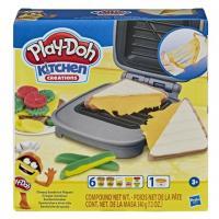 E7623 PlayDoh plastilīna komplekts Cheesy Sandwich Playset