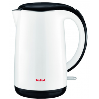 KO260130 TEFAL tējkanna Double Layer, 1800W, 1,7L, balta