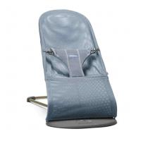 BABYBJÖRN šūpuļkrēsls - Bouncer Bliss MESH - Slate Blue šūpuļkrēsliņš