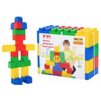 Būvēšanas konstruktors  XXL  24 gab