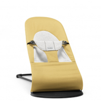 BABYBJÖRN - Bouncer Balance Soft Yellow/Grey, Cotton/Jersey šūpuļkrēsliņš