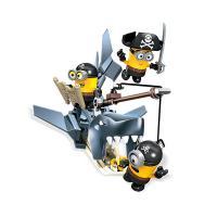 CNF54/CNF53 Mega Bloks Minion konstruktors Haizivs uzbrukums
