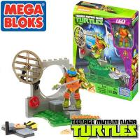 DMX33 Mega Bloks Teenage Mutant Ninja Turtles Raph/Leo