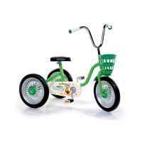 S-GB Spārīte Bērnu velosipēds-trīsritenis Zaļš + melns