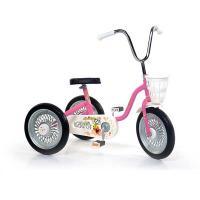 S-PB Spārīte Bērnu velosipēds-trīsritenis Rozā + melns