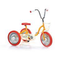 S-OR Spārīte Bērnu velosipēds-trīsritenis Oranžs + sarkans