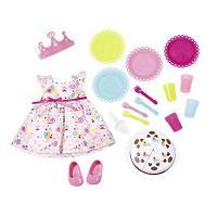 825242 Baby Born Deluxe Party Set Lelles rotaļlietu komplekts