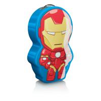 "(Philips Disney ""Iron-Man"" LED nakts lukturītis, krāsains"