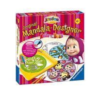 29878 Ravensburger Mandala Trafarets zīmēšanai Maša un Lācis
